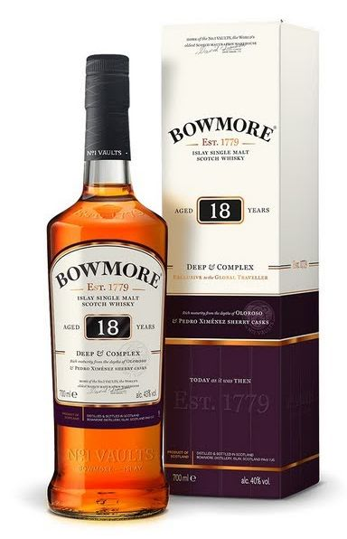 Bowmore 18 Years Old Deep & Complex + GB