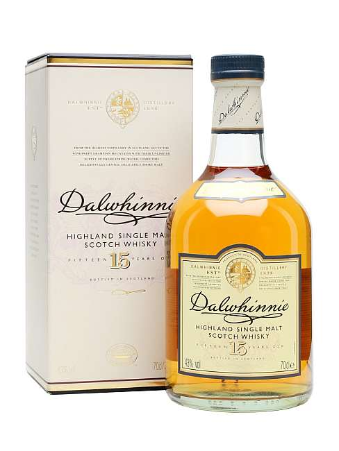 Dalwhinnie Single Malt Whisky 15 Years Old + kutija